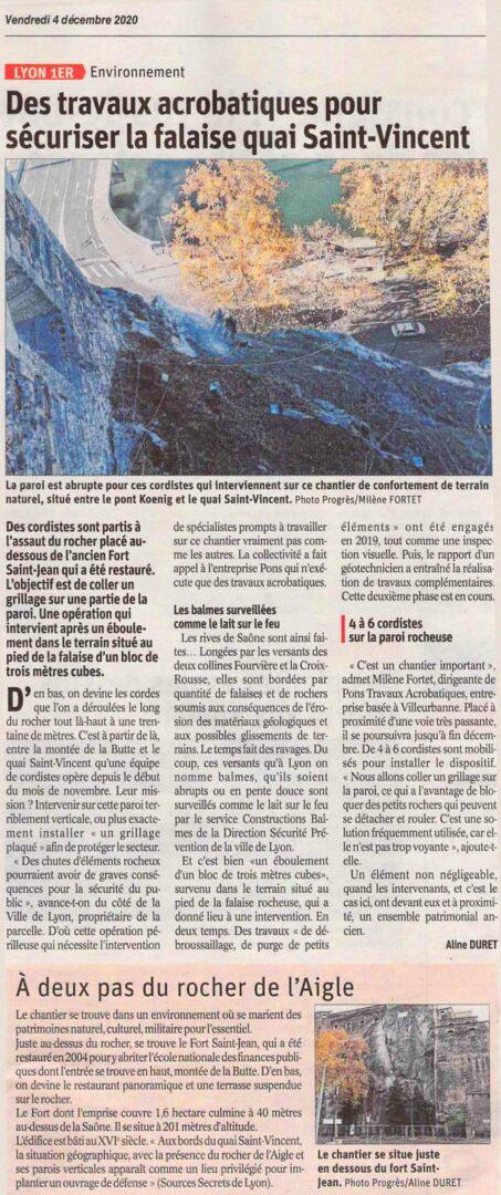 Article LE PROGRES 4 Décembre 2020 Saint Jean Pons travaux acrobatiques.jpg